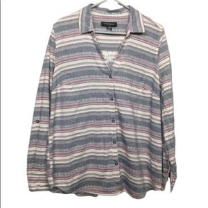 Wendy Bellissimo Striped Blouse